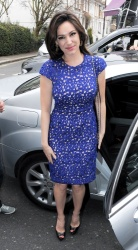 Kelly Brook - at Riverside Studios in London 4/10/13