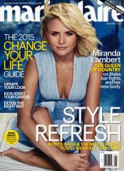 Miranda Lambert x9 Marie Claire (US) January, 2015