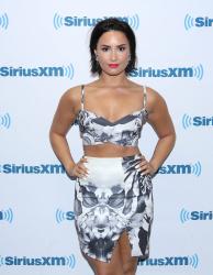 Demi Lovato @ SiriusXM Studios in NYC - 07/01/15