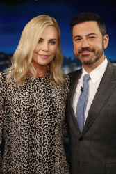 Charlize Theron - Jimmy Kimmel Live: April 13th 2017
