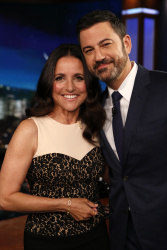 Julia Louis-Dreyfus - Jimmy Kimmel Live: April 19th 2017