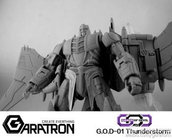 [Garatron] Produit Tiers - Gand of Devils G.O.D-01 Thunderstorm - aka Thunderwing des BD TF d'IDW TiniYWeI