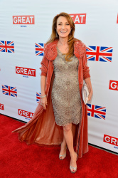 Jane Seymour - GREAT British Film Reception in LA 2/22/13