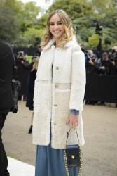 Suki Waterhouse - London Fashion Week Spring/Summer 16 Burberry Prorsum @ Kensington Gardens in London - 09/21/15