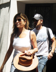 Jennifer Aniston - Out for lunch in New York City 7/19/17