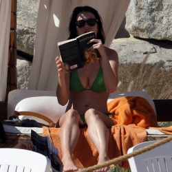 Katy Perry green bikini 6
