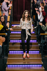 Sara Bareilles - The Late Late Show with James Corden: February 27th 2017