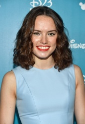 Daisy Ridley - 2015 D23 Expo Day 2 Worlds, Galaxies, and Universes: Live Action @ the Anaheim Convention Center in Anaheim - 08/15/15 *ADDS*