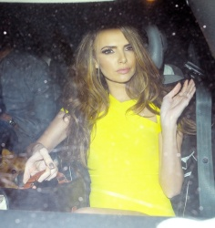 Nadine Coyle - at Whisky Mist in London 3/3/13