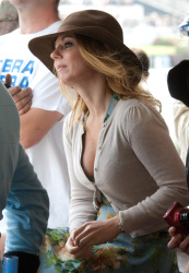 Geri Halliwell - At The Goodwood Revival 2014 - 13 Septembre 2014