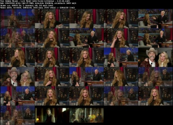 Amber Heard - Late Night with David Letterman - 2-17-14