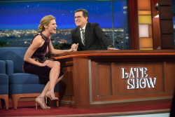 Erin Andrews - The Late Show with Stephen Colbert: January 10th 2017