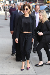 Kate Beckinsale - Arriving/Leaving The Late Show with Stephen Colbert @ the Ed Sullivan Theater in NYC - 05/11/16