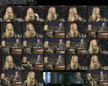 Kate Hudson - Late Show with David Letterman - 8-8-05
