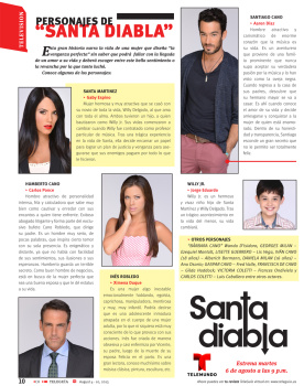 Telenovelas y Revista