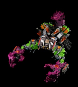 [Maketoys] Produit Tiers - Jouet MCB-03 Pandinus - aka Scorponok et MCB-03D Devil Stinger - aka Black Zarak J05CouEQ