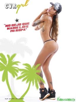Erika Fernandez Revista Chilanga Surf Foto 6