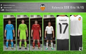 Download PES 2014 Valencia GDB Kits 14/15 by A 7 M E D SB