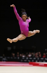 Simone Biles - 2015 World Artistic Gymnastics Championships: Day Ten @ The SSE Hydro in Glasgow - 11/01/15