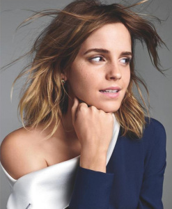 Emma Watson - by Kerry Hallihan for Entertainment Weekly March 2017