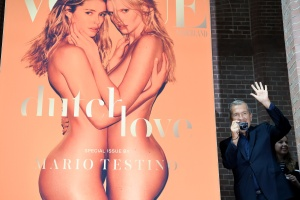 Doutzen Kroes & Lara Stone - Vogue Netherlands Launch in Amsterdam - March 8th 2017
