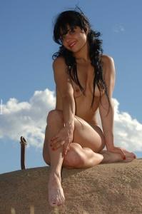 Tags:  Teen, Latina, Brunette, Natural Tits