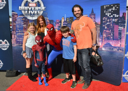 Poppy Montgomery - Marvel Universe LIVE! Celebrity Red Carpet Event @ The Forum in Inglewood - 05/02/15