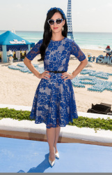 Katy Perry - 'The Smurfs 2' photocall in Cancun 4/22/13
