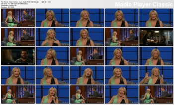 Kate Hudson - Late Night With Seth Meyers - 7-22-14