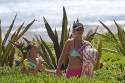 Britney Spears Wearing a Bikini in Hawaii - 3/27/15