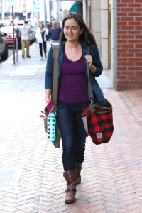 Danica McKellar - Out In Beverly Hills - February 8th 2017
