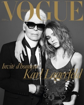 Image result for lily paris  vogue