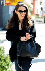 Winona Ryder - out in NY 4/9/13