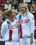 Maria Sharapova the 2016 Fed Cup World Group 1st  at Olympic Stadium in Moscow - February 6-2016 x5 G6qWm9Ab