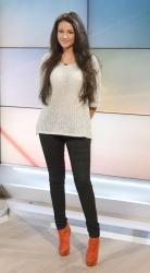 Michelle Keegan on ITV Daybreak 15th January x9