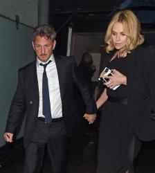 Sean Penn - Charlize Theron and Sean Penn - seen leaving Royal Festival Hall. London - February 16, 2015 (153xHQ) HfapR9SM