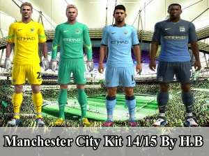Download Manchester City Kit 14/15 Pes 13 By H.B
