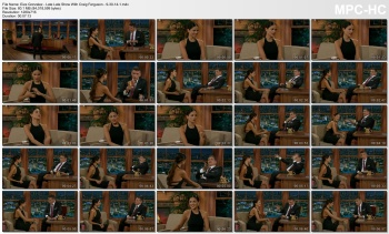 Eiza Gonzalez - Late Late Show With Craig Ferguson - 9-30-14