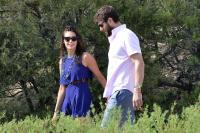 Nina Dobrev with her boyfriend Austin Stowell in Saint-Tropez (July 24) HGkB1y2Z