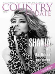 Shania Twain -         	Country Update Magazine (Australia) October/November 2017.