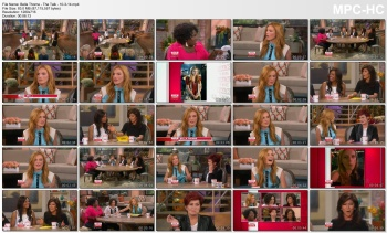 Bella Thorne - The Talk - 10-3-14
