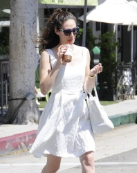 Emmy Rossum - Out & About in Beverly Hills 7/27/15