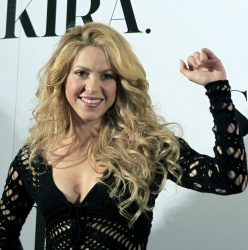 Shakira - new album photocall in Spain 20-03-2014