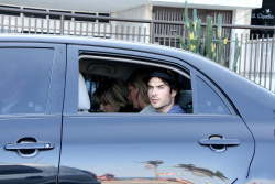Ian Somerhalder - waves to photographers as he arrives at a private party in Rio - June 01, 2012 - 7xHQ ZOTRM3IC