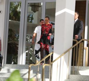 Chrissy Teigen - Leaving Her Hotel in Miami - March 3rd 2017