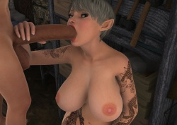 VGBABES3D – ARTWORK OF ORAL SEX