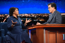 April Ryan - The Late Show with Stephen Colbert: May 25th 2017