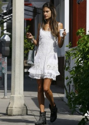 Alessandra Ambrosio - out in Malibu 4/21/13