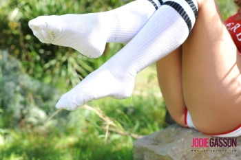 set072 Red Top With Knee Socks 27.10.12
