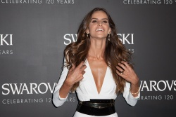 Izabel Goulart - Paris Fashion Week SS 2016: Swarovski 120 X Rizzoli Exhibition & Cocktail @ Hotel France Ameriques in Paris - 09/30/15